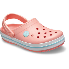 Crocs Crocband Clogs Niños, melon/ice blue